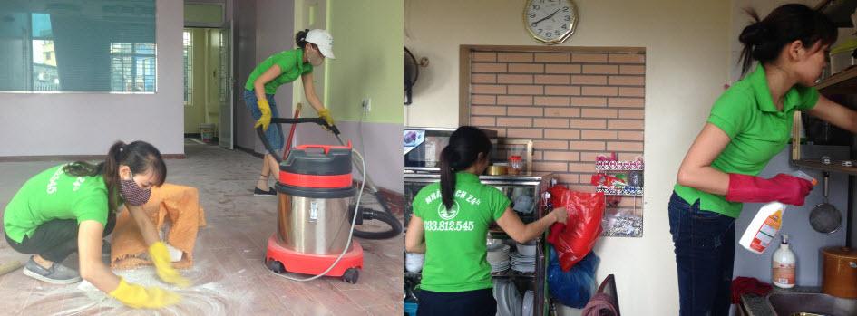 Dịch vụ vệ sinh nhà ở 1