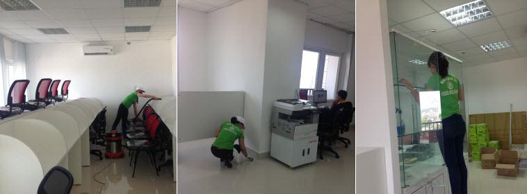 Dịch vụ vệ sinh văn phòng tại Cẩm Phả rẻ nhất