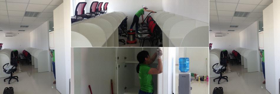Dịch vụ vệ sinh văn phòng tại Cẩm Phả tốt nhất
