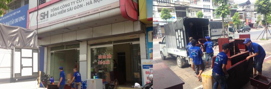 Chuyển văn phòng trọn gói Quảng Ninh