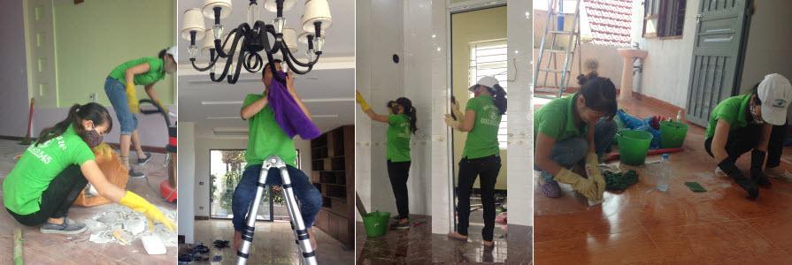 Dịch vụ tổng vệ sinh sau xây dựng 1