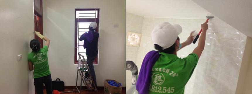 Dịch vụ vệ sinh nhà mới 2