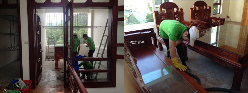 dịch vụ  dọn vệ sinh nhà lấy ngày 1