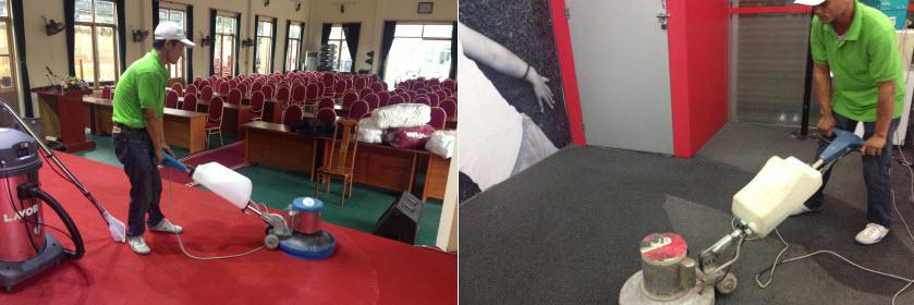 Dịch vụ giặt thảm 2