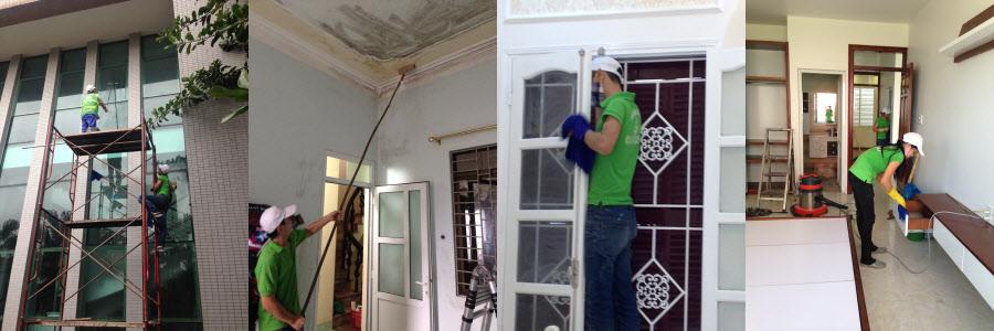 Dịch vụ vệ sinh nhà ở tại Cẩm Phả 2