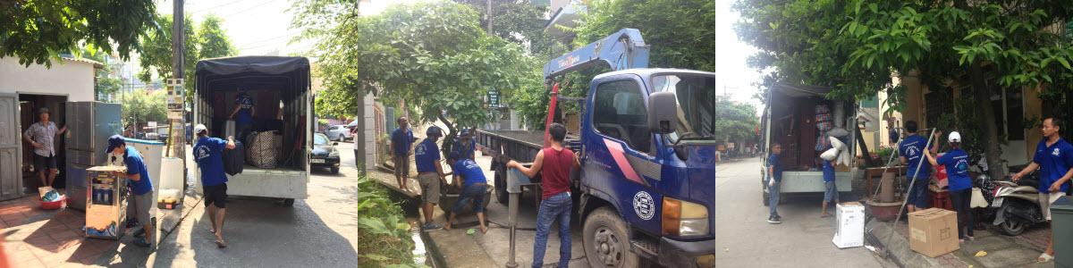 Dịch vụ chuyển nhà trọn gói tại Hạ Long