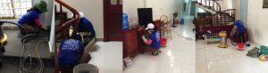 Dịch vụ lau nhà tại Hạ Long