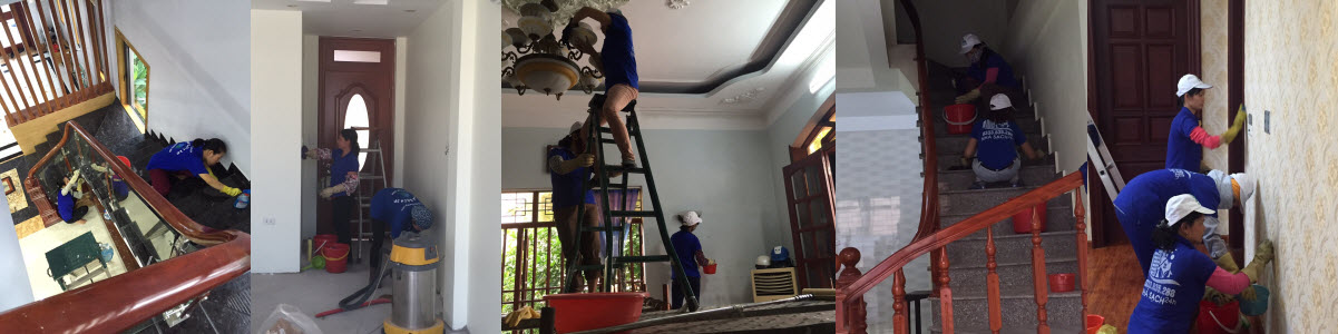 Dịch vụ làm sạch tại Uông Bí